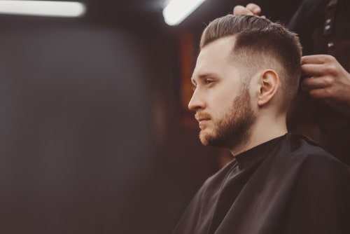 Low Fade Gents Haircut